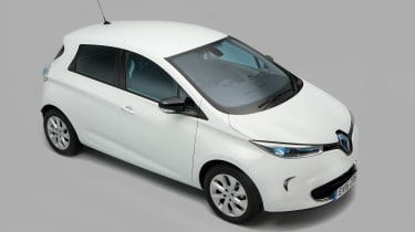 Used Renault ZOE - above
