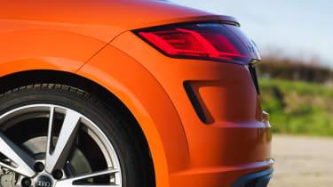 Audi TT Coupe - rear