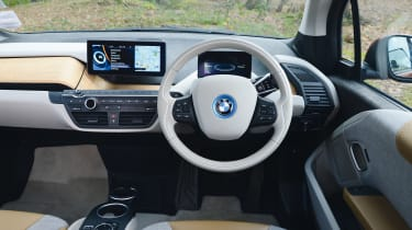Used BMW i3 - dash