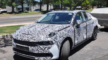 Lynk & Co 03 spy shots front quarter