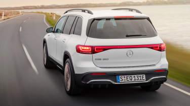 Mercedes EQB - rear cornering