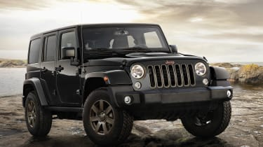 Jeep Wrangler - Front Three Quarters