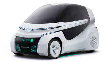 Toyota Concept-i Ride - front static
