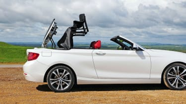 BMW 2 Series Convertible - roof