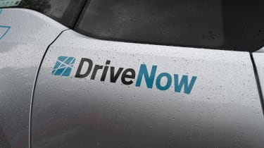Ultimate guide to car sharing - DriveNow logo