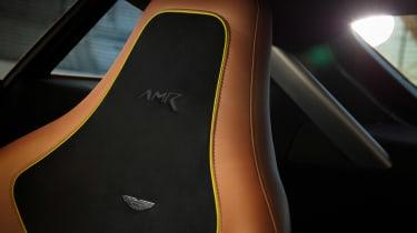 Aston Martin Vantage AMR - seat detail