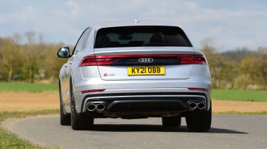 Audi SQ8 - rear cornering
