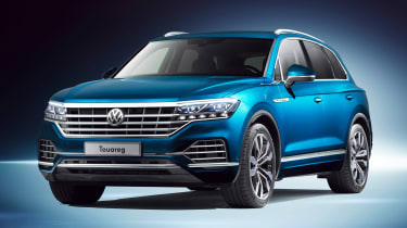 Volkswagen Touareg - front static