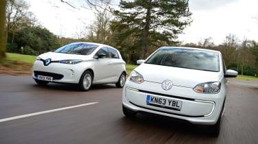 Volkswagen e-up! vs Renault ZOE 5