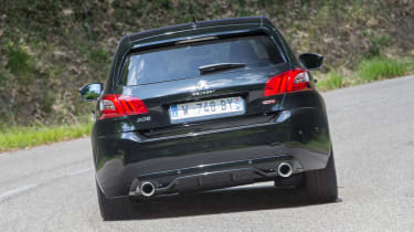 Peugeot 308 GTi review - rear