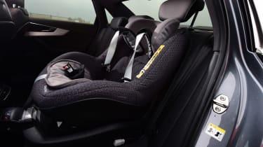 Audi A4 long-term test - final report child seat