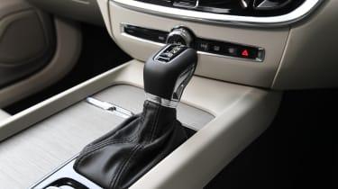 Volvo S60 saloon - gear lever