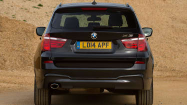 Used BMW X3 - full rear