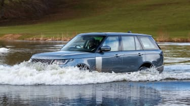 Range Rover PHEV - front water