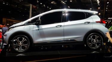 Opel Ampera-e - Paris side profile