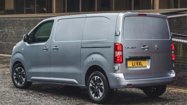 Vauxhall Vivaro van - rear static