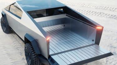 Tesla Cybertruck load area