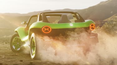 Volkswagen ID. Buggy concept - rear action