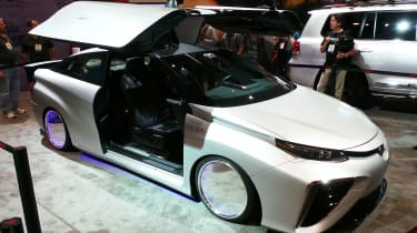 Toyota Mirai Back to the Future