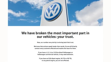 <strong>05/10/2015:</strong> VW launches website to enables owners to check if their car is affected.