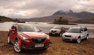 Mazda CX-5 vs rivals