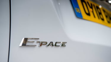Jaguar E-Pace D150 - E-Pace badge