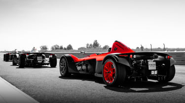 BAC Mono One - rear tracking