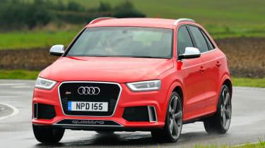 Audi RS Q3 front action