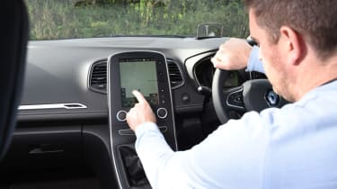 Renault Grand Scenic infotainment