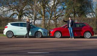 Ford Fiesta vs SEAT Ibiza - header