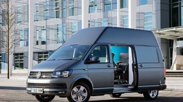 VW T6 Transporter mobile office high roof