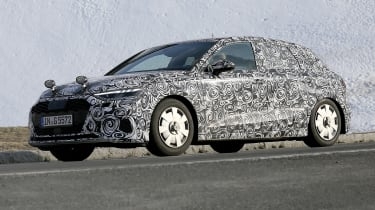 Audi A3 spied - front 3/4 tracking