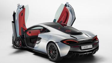 McLaren 570GT 2016 - rear quarter doors open
