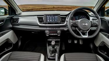 Kia Stonic UK review - interior
