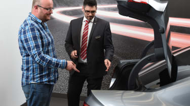 Long-term test review: Audi A4 handover boot