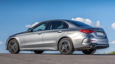Mercedes C-Class - rear static