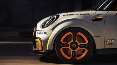 MINI Electric Pacesetter - side detail