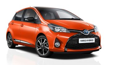 Toyota Yaris Orange Edition