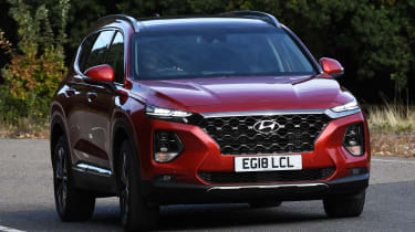 Hyundai Santa Fe - best 7-seater cars