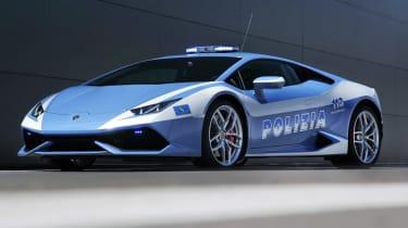 Lamborghini-Huracan-Polizia-front-quarter