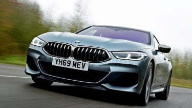 BMW M850i xDrive Gran Coupe - front tracking