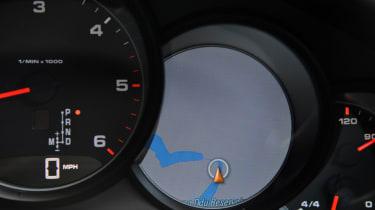 Porsche Panamera 2014 dials