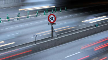 france speed limit sign