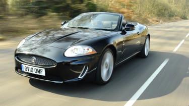 Jaguar XK Convertible front track