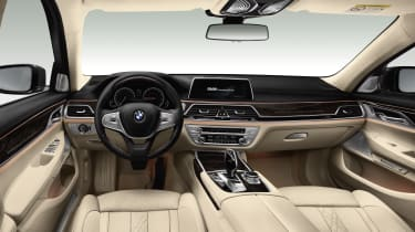 New 2015 BMW 7-Series interior