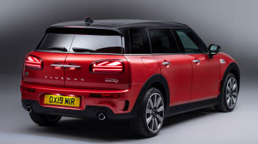 MINI Clubman - studio rear static