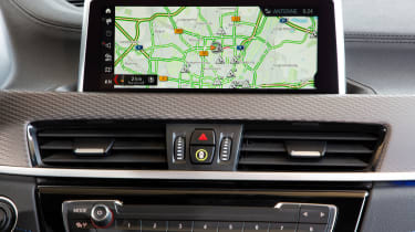 BMW X2 M35i - sat-nav