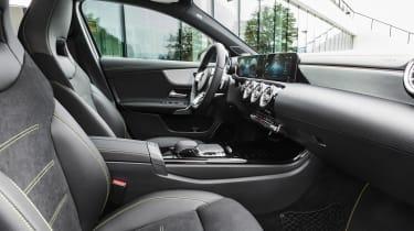 New Mercedes A-Class - cabin