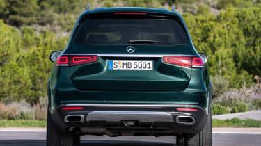 Mercedes GLS - green full rear static
