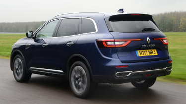 Renault Koleos - Rear Tracking